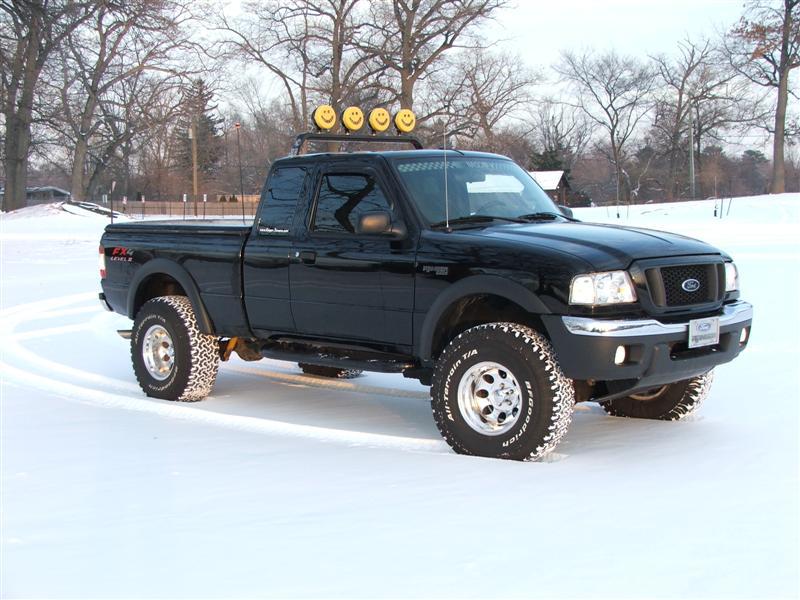 2005 Ford Ranger Tire Sizes