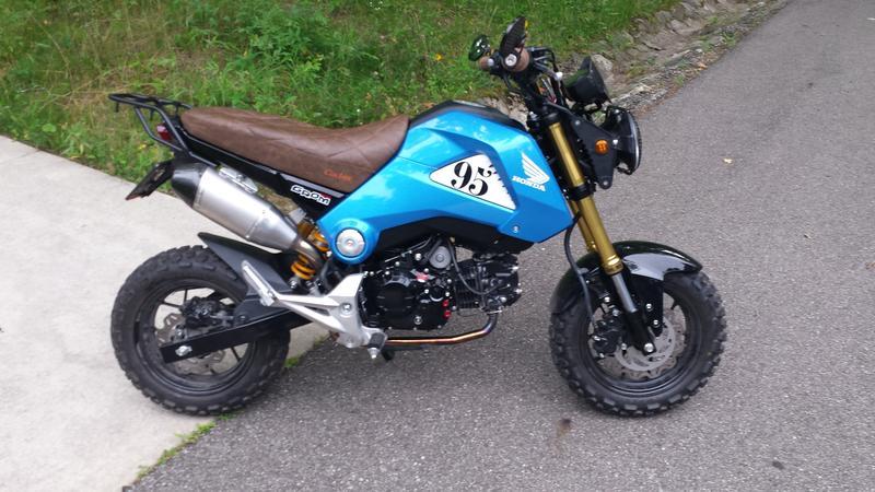 Honda Grom Build >> New honda monkeybike coming soon! Honda Grom | Page 81 | Adventure Rider